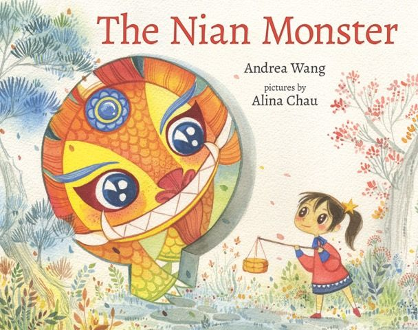 Chinese New Year Craft For The Nian Monster Book Illustration Holiday Books Chinese New Year Crafts
