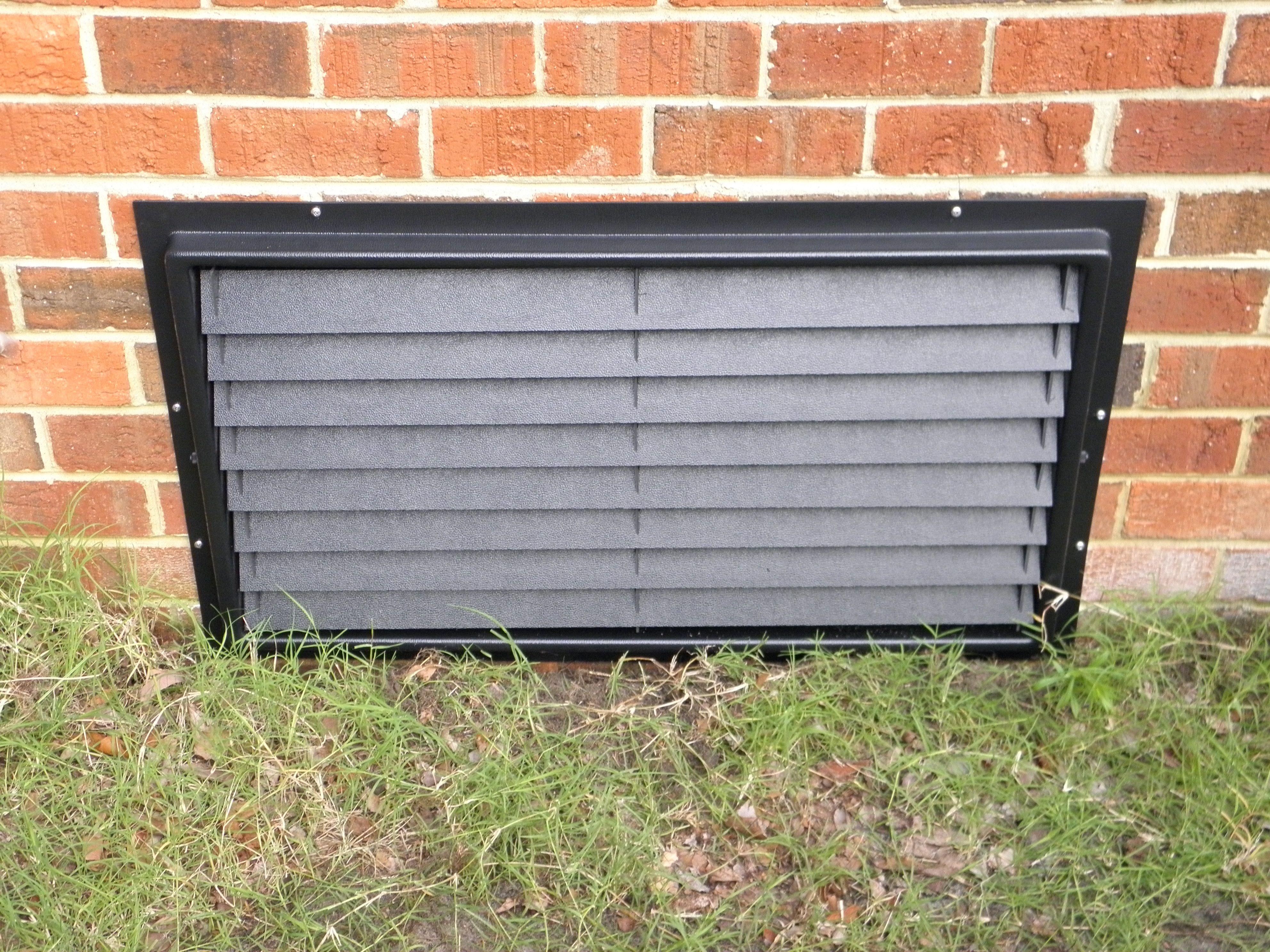 16x32 Flood Vent Crawl Space Door Crawlspace Diy Crawlspace