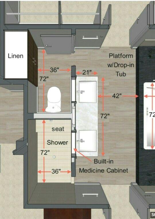 Nice Floor Plan Master Bath Bathroom Floor Plans Bathroom Plans Bathroom Planner