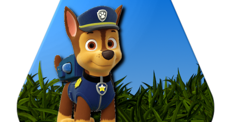 Alfabeto Patrulha Canina Chase Png Paw Patrol Alphabet Png Mario Characters Banner Character