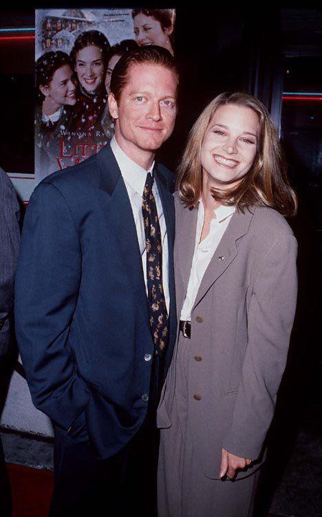 Bridget Fonda with her ex-boyfriend Eric Stoltz