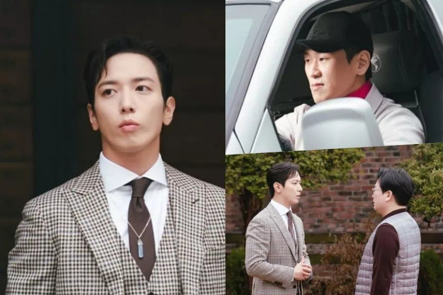 "CNBLUE's Jung Yong Hwa And Kang Hong Seok Make A Perfect Duo Of Con Artists In ""Sell Your Haunted House"""