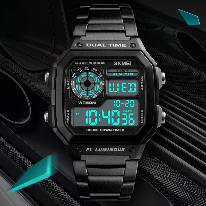 518b5ce8a740 INSNIC Stainless Steel Fashion Waterproof Sports Watch Reloj