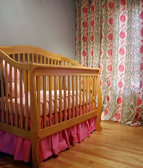 Gathered Dust Ruffle Bed Skirt For Cribs And Toddler Beds
