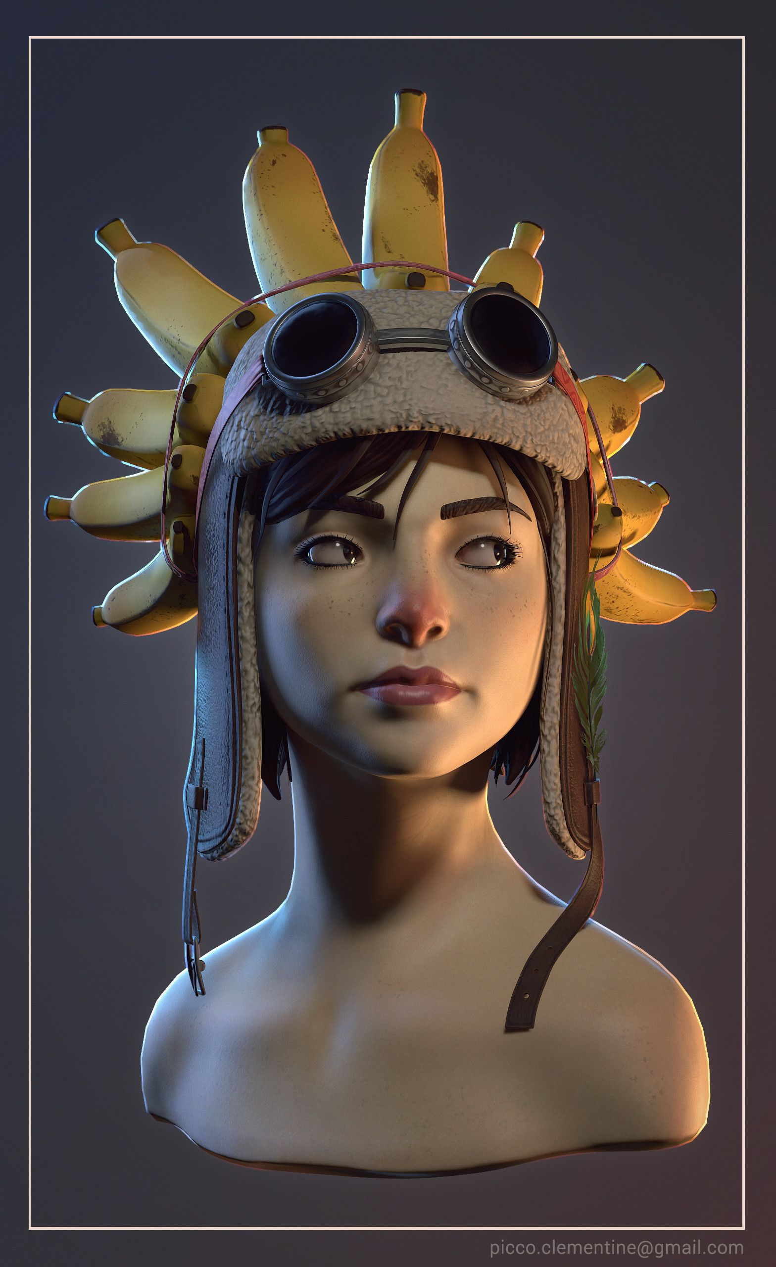 Artstation princess consuela bananahammock fan art clementine