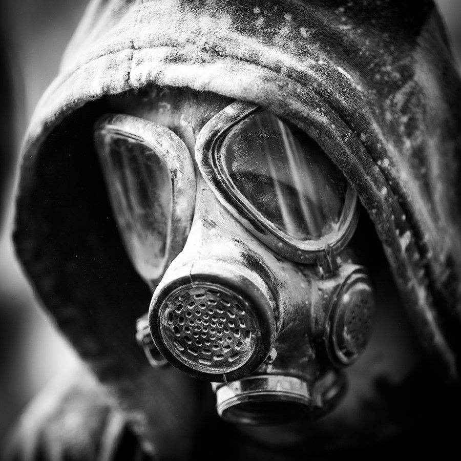 Gas Mask Portrait