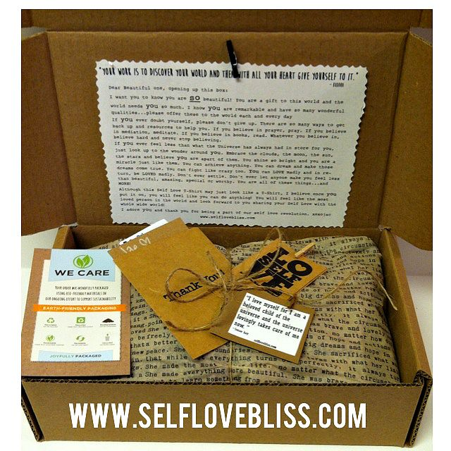 We've got our new ‪#‎recycled‬ shipping boxes from EcoEnclose, LLC and I've added a new Love Letter to make you feel giddy and loved...because you all are so loved! We love and appreciate our customers so much!!! Thank YOU!!! #branding #packaging #shop #shoponline #smallbusiness #tshirts #selflove #unique #original #love #life #live #selflovebliss #bliss https://www.facebook.com/selflovebliss www.selflovebliss.com @ecoenclose