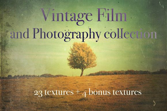 Vintage Film & Photography by Dirk's texture pit on Creative Market