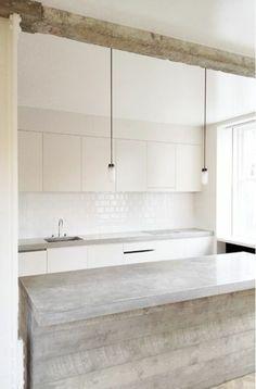 Moderne Küchen Mit Kochinsel Küchenblock Freistehend Minimalistisch