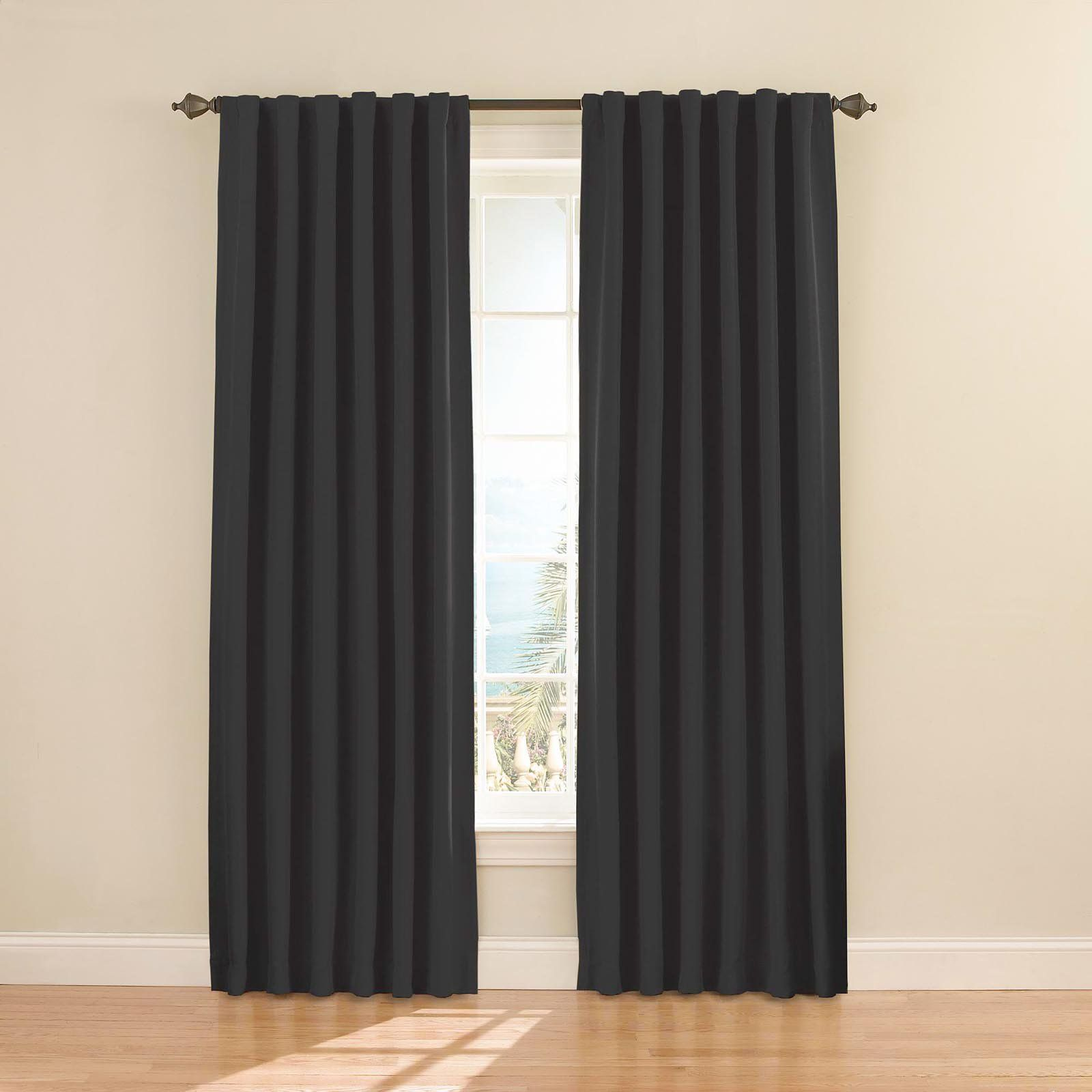 Eclipse Fresno Blackout Window Curtain Panel 2020 Panel Curtains Eclipse Curtains Window Curtains