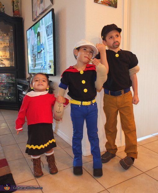 Costume contest  sc 1 st  Pinterest & Popeye Olive Oyl and Bluto | Popeye olive oyl Sibling costume and ...