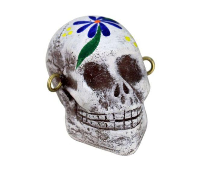 Medium Female Day of the Dead Skull