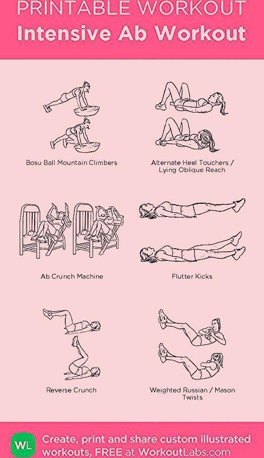 Photo of Intensive Ab Workout Mein persönliches Training erstellt auf WorkoutLabs.com …
