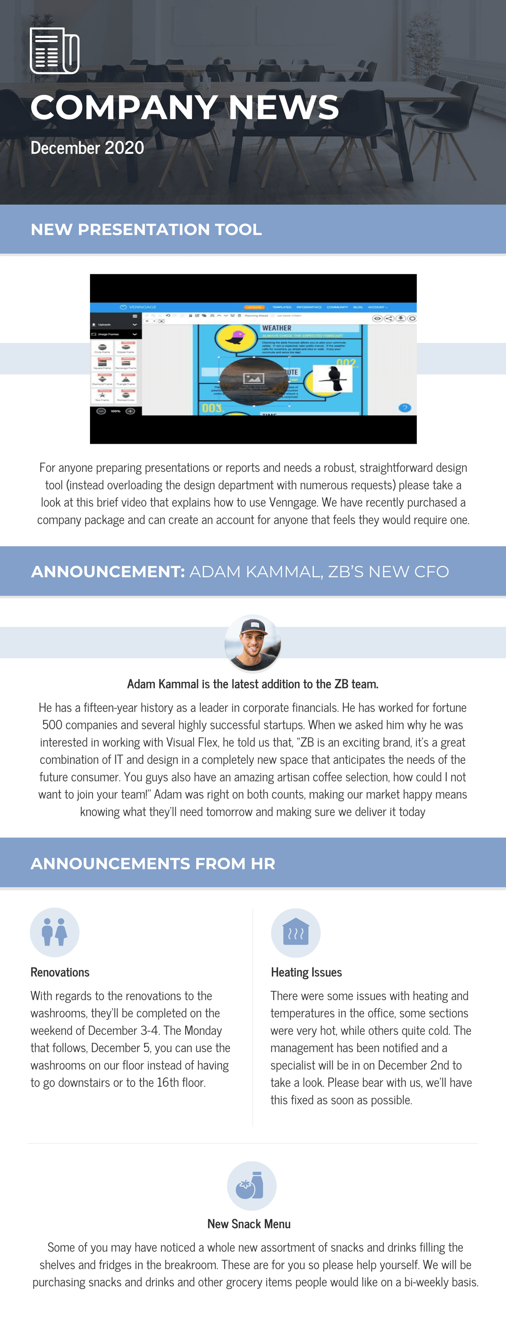 monthly business newsletter template email newsletter design ideas