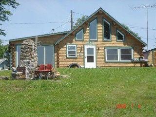 Cross Lake Cabin Rental: Log Home On A Beautiful Fresh Water Lake In  Northern Maine