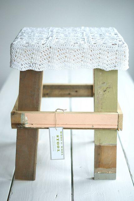wood & wool stool elle by wood & wool stool, via Flickr
