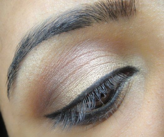 Photo of Champagne and Bronze Eye Makeup Tutorial
