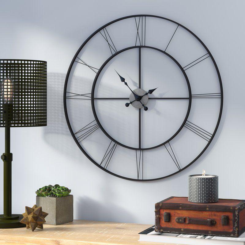 Oversized Decorative 30 Wall Clock Big Wall Clocks Oversized