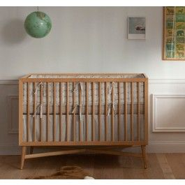 Beautiful Crib, So Perfect For Our Nursery!! #stylesquared MID CENTURY CRIB