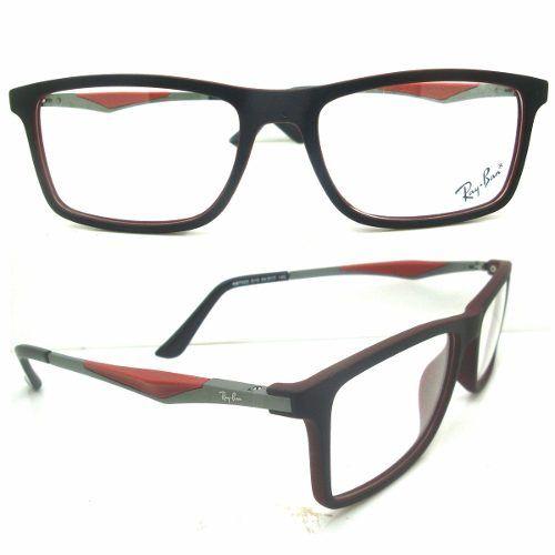 Ray Ban Armação Óculos Grau Masculino Feminino 8910   Estilo ... fc1bc01412