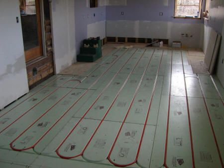 Warmboard Radiant Heat Floor With Images Heating