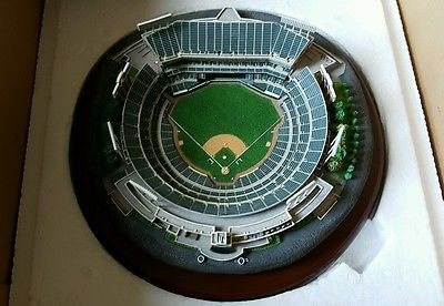 Danbury Mint Stadium Replica Network Associates Coliseum Oakland Athletics  A s 429b77717