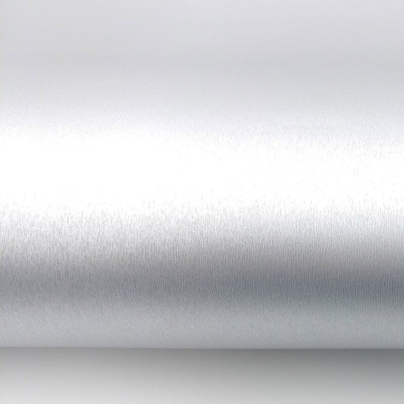 Delafuente 78 7 L X 24 W Metallic Peel And Stick Wallpaper Roll Peel And Stick Wallpaper Shiny Silver Wallpaper Silver Paint Walls