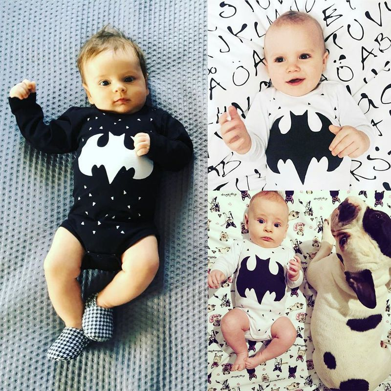 0-18M Newborn Baby Girls Boys Printing Romper Bodysuit Jumpsuit Outfits Suits