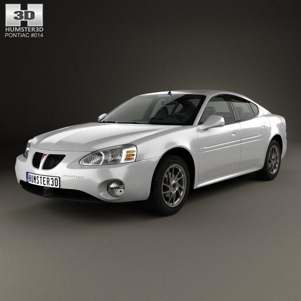 Pontiac Grand Prix GTP 2004 3d model from humster3d.com