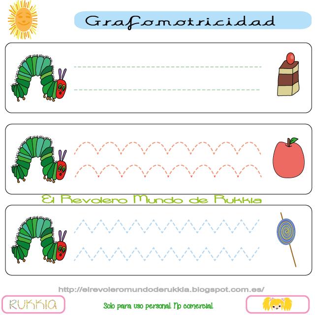grafomotricidad, oruga glotona actividades, graphomotor, graphomotor ...