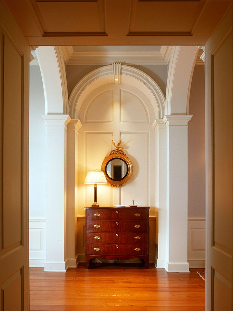 Old Colonial Home Redesign For Unique Bright And Modern House: View A Design Image From Ken Tate Architect's Lookbook On Dering Hall