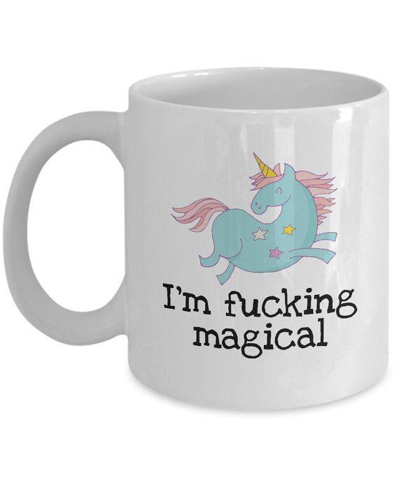 Unicorn Gift I/'m Magical Unicorn Coffee Mug