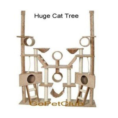 Gopetclub Huge Cat Tree Furniture Cando Bed House Pet Scratcher Post Fc02 199 99 Cat Tree Condo Cat Tree House Cat Tree