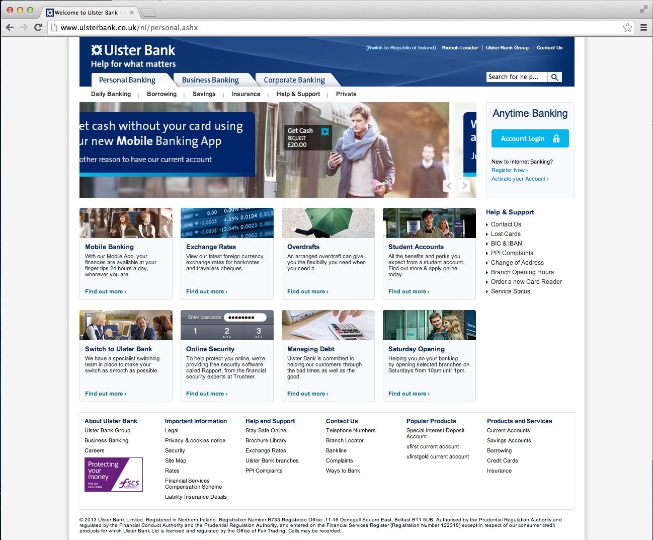 Ulster Bank - http://www.ulsterbank.co.uk | Banks | Pinterest | Banks