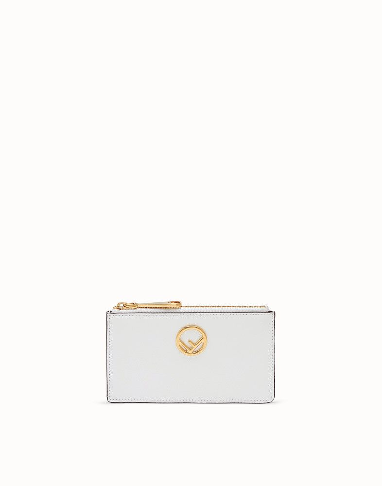 Card pouch card holder leather fendi pouch card pouch