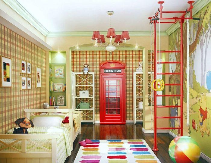 Kinderzimmer Deko Wandgestaltung Gestalten Kinderzimmergestaltung