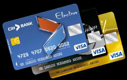 فتح حساب الموظف من Cih Bank احصل على بطاقة فيزا مجانا بعدة مزايا Visa Card Bank Cards