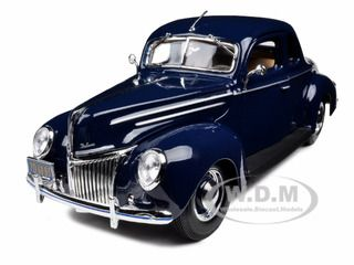 (Limited Supply) Click Image Above: 1939 Ford Deluxe Tudor Blue 1/18 Diecast Model Car By Maisto