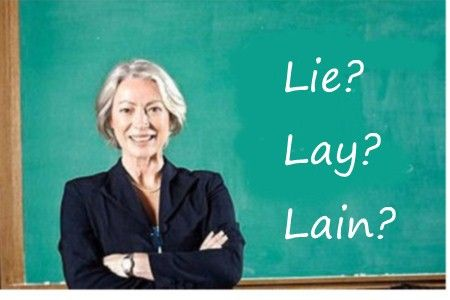 Wednesday Words: OK, you asked for it — a Lie / Lay Quiz!