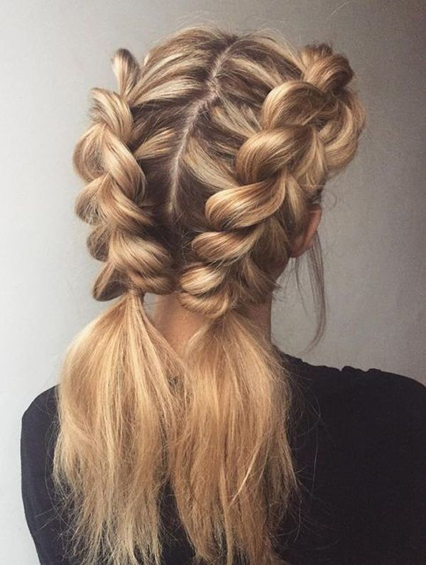 20 Beautiful Two Braids Hairstyles That Will Rock Your World!