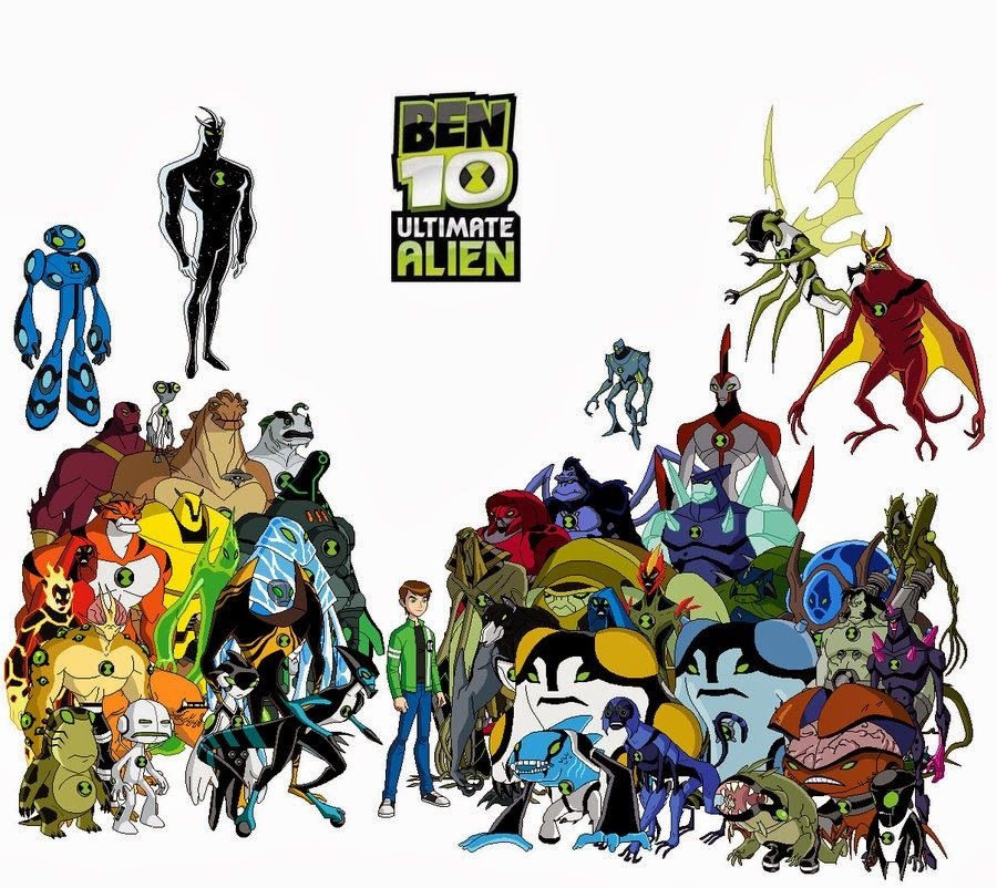 Ben 10 Ultimate Alien Ultimate