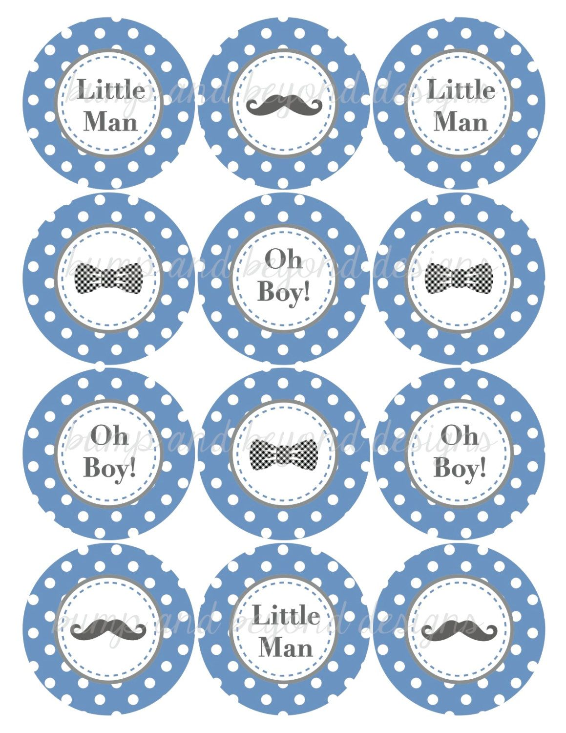 Cupcake Toppers Baby Shower   Buscar Con Google