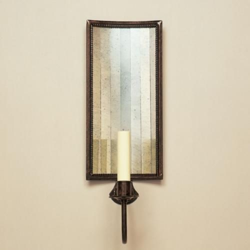 Tole & Mirror Wall Light: Master