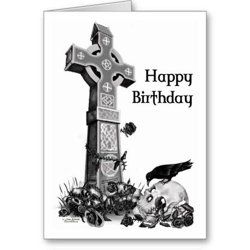 Gothic birthday card gothic and birthdays gothic birthday card bookmarktalkfo Gallery