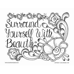inspirational coloring page - Inspirational Coloring Pages