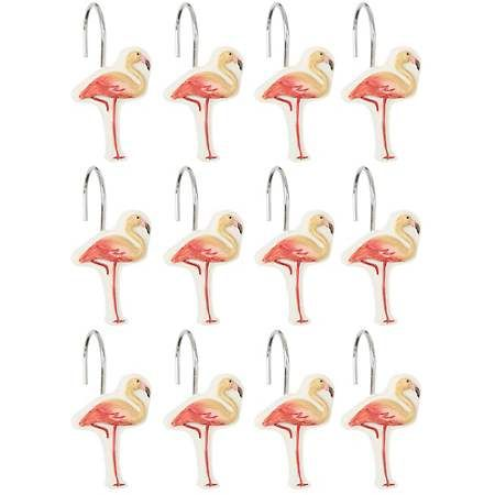 Coral Gables Shower Curtain Hooks