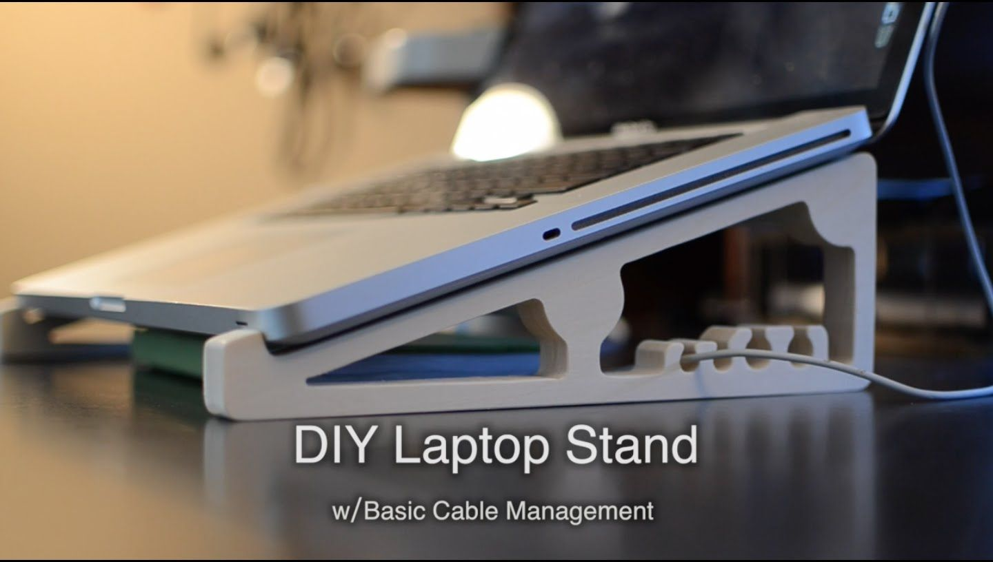 DIY CNC'ed Laptop Stand for $5 - Shapeoko Project #57 ...