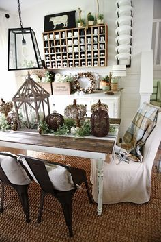 Neutral Fall Decor Sources -