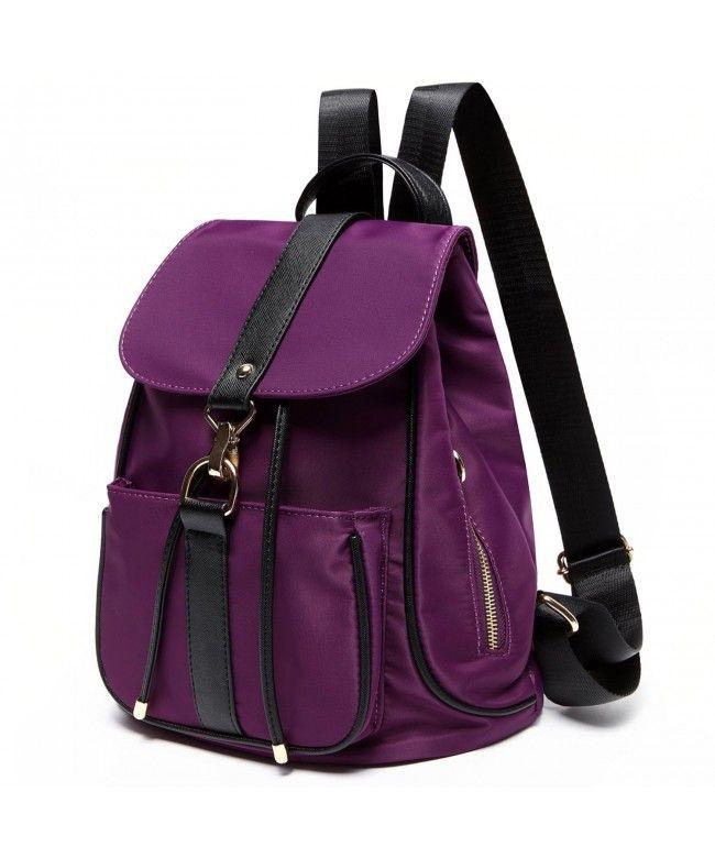 c99ea89bde9a Womens Backpack School Rucksack Travel Backpack Mini Lightweight Casual  Daypack - Purple - CQ1827QLW70  Bags  Handbags  Backpacks  gifts  Style