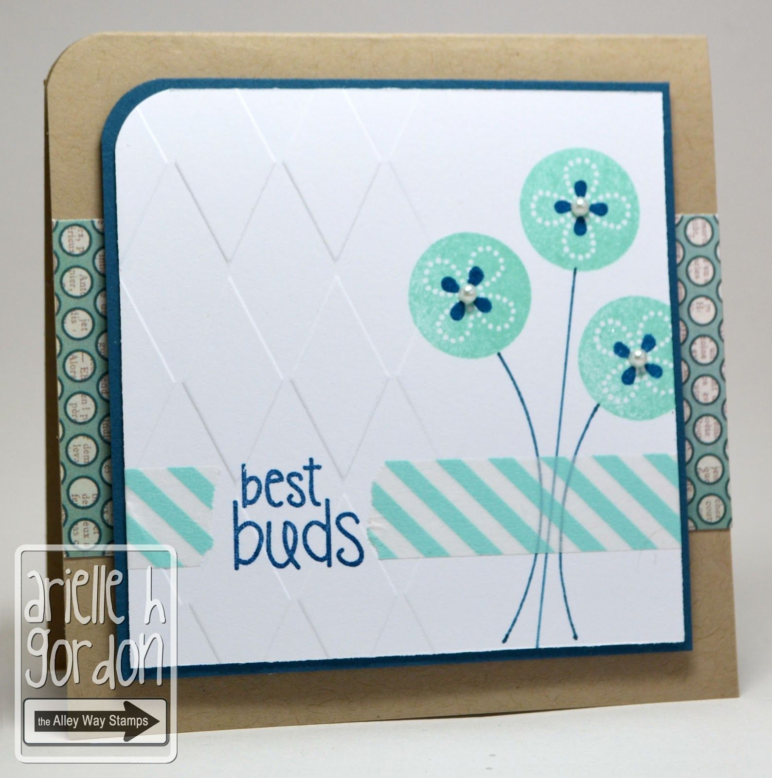 Snappy Stampin' w/ Arielle: BEST BUDS / TAWS Sneak Peek Day #3 & CTS #6... The Alley Way Stamps